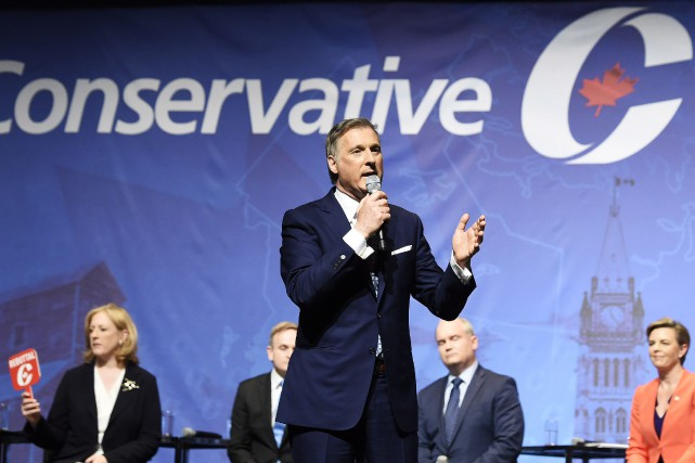 Maxime Bernier a récolté 1,031 million.... (Photo Nathan Denette, La Presse canadienne)