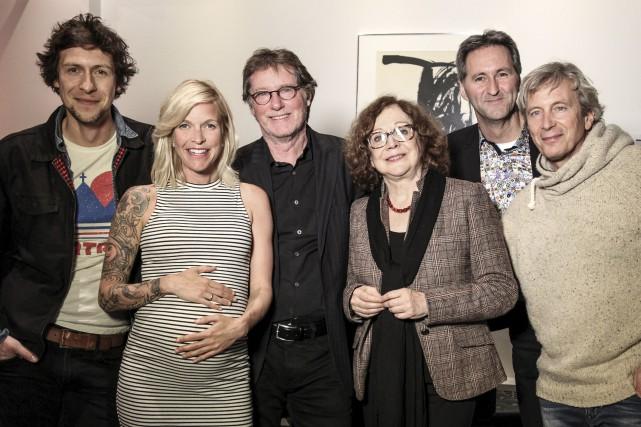 Patrice Michaud, Brigitte Boisjoli, Marc Messier, Pauline Martin,... (Collaboration spéciale, Annick Sauvé)