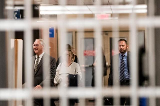 L'ex-maire Gérald Tremblay a témoigné au procès de... (Photo Marco Campanozzi, La Presse)