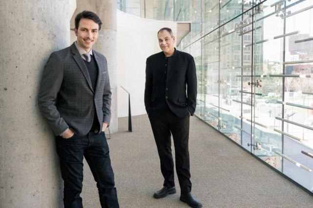 Selon Simon Leclerc (à droite), chef associé de... (Photo Robert Skinner, La Presse)