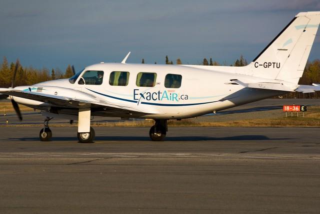 L'avion qui s'est écrasé à 10 kilomètres au... (Photo courtoisie, Jean-Philippe Richard)
