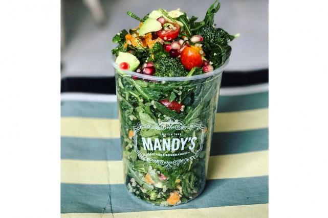 Les fanas de chez Mandy's retrouveront les salades... (Photo tirée du compte Instragram @mandysalads)