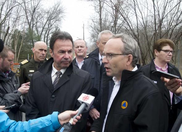 Le ministre de la Sécurité publique, Martin Coiteux,... (Photo: Sylvain Mayer)