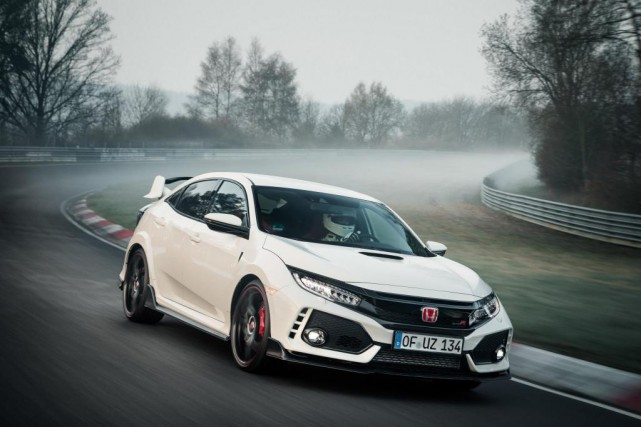 La Honda Civic Type R... (PHOTO HONDA)