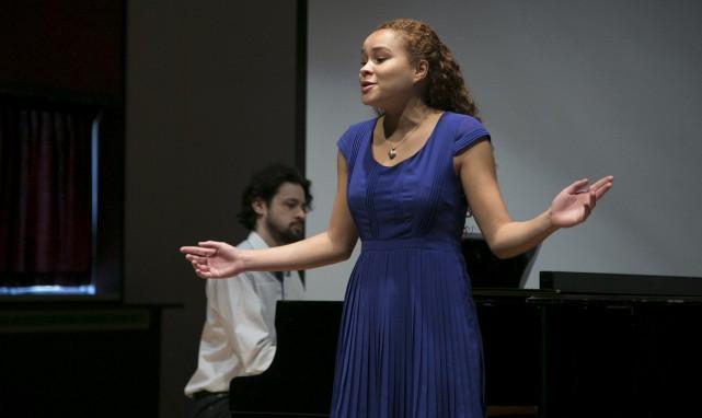 Anne-Sophie Gagnon-Métellus, chanteuse classique, fait partie des 220... (Spectre Média, René Marquis)