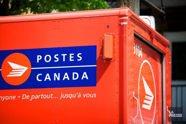 Postes Canada a enregistré pour l'exercice 2016 un profit avant impôt de 55... (PHOTO SARAH MONGEAU-BIRKETT, LA PRESSE)