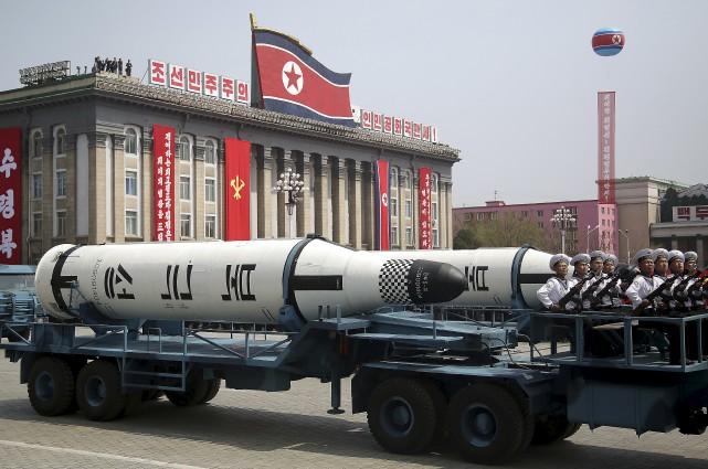 Le régime nord-coréen a réalisé depuis 2006 cinq... (AP, Wong Maye-E)