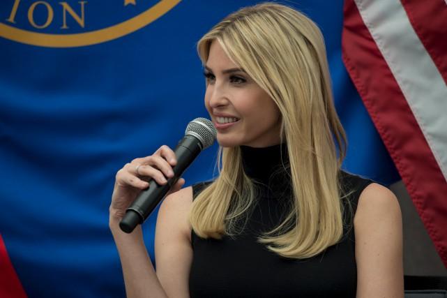 Le contenu du livre d'Ivanka Trump s'inscrit dans... (AFP, Nicholas Kamm)