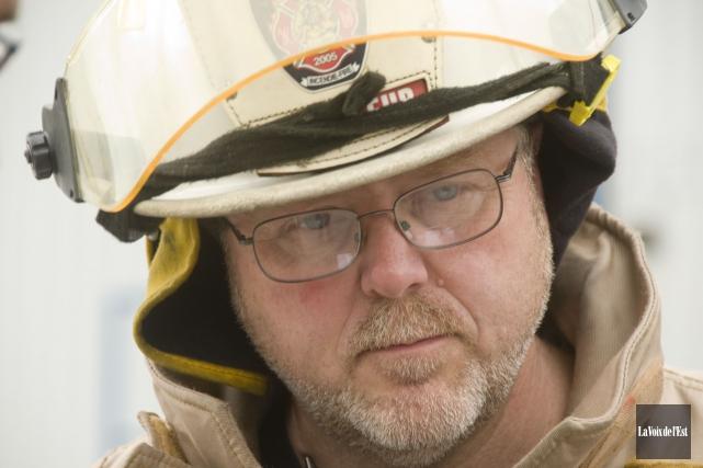 Ralph Guilman, directeur du Service des incendies de... (archives La Voix de l'Est)