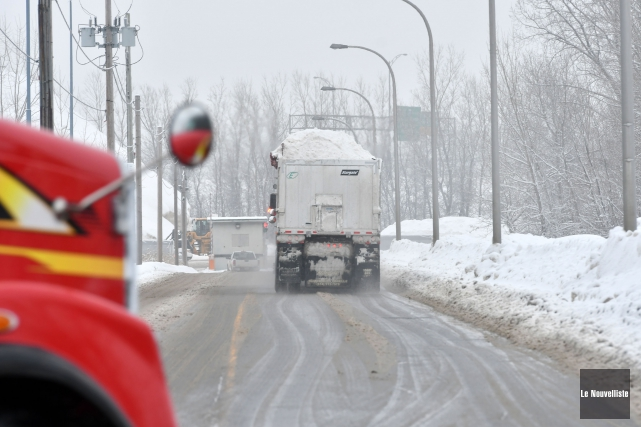 La Ville de Trois-Rivières va réévaluer les quantités... (Stéphane Lessard, Le Nouvelliste)