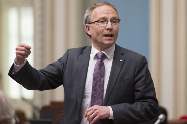 Le ministre Martin Coiteux souhaite réformer les mécanismes... (Photothèque Le Soleil)