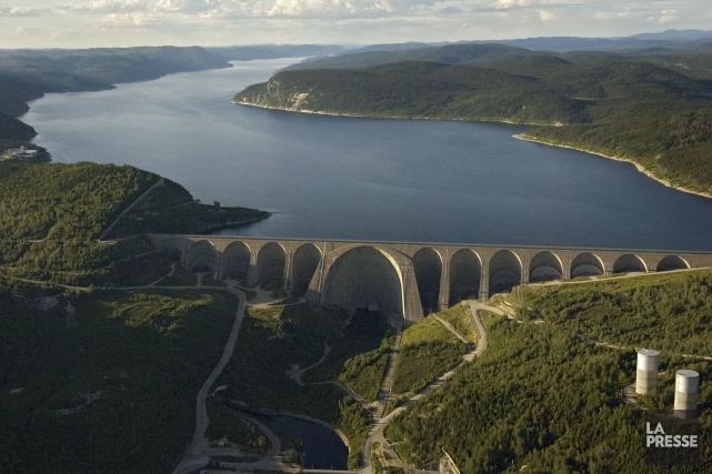 La barrage Daniel-Johnson... (Photo Ivanoh Demers, archives La Presse)