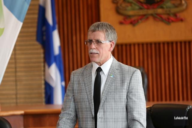 Le directeur des travaux publics de la municipalité,... (Julie Catudal, La Voix de l'Est)