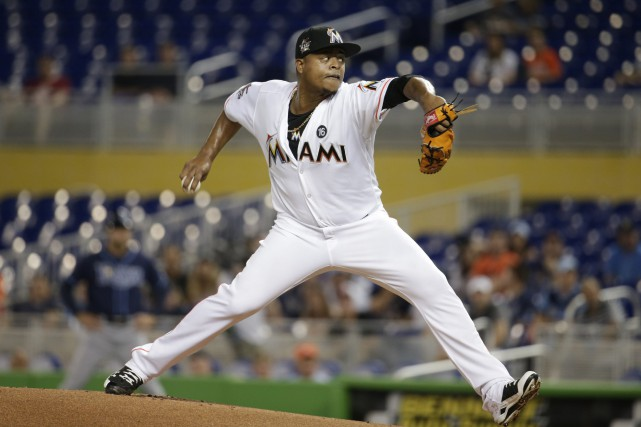 Edinson Volquez... (PHOTO Lynne Sladky, AP)