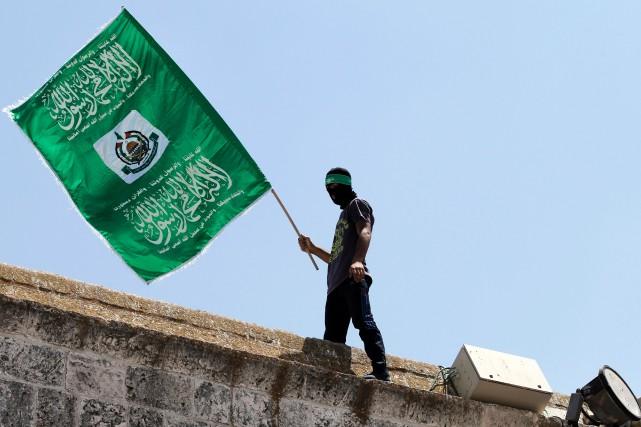 Le Hamas exige, selon HRW, la libération de... (PHOTO ARCHIVES AFP)