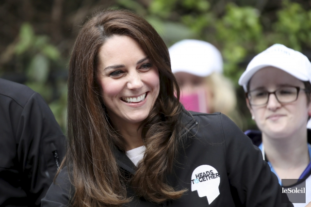 La duchesse Kate Middleton était en vacances dans... (Photothèque Le Soleil)