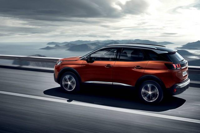 Des systèmes de conduite autonome seront testés sur... (Photo Peugeot)