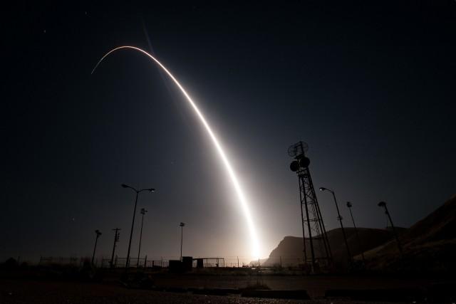 Le missile Minuteman IIIa parcouru quelque 6700 km... (AFP)