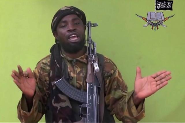 Abubakar Shekau, le chef du groupe islamiste Boko... (AP)