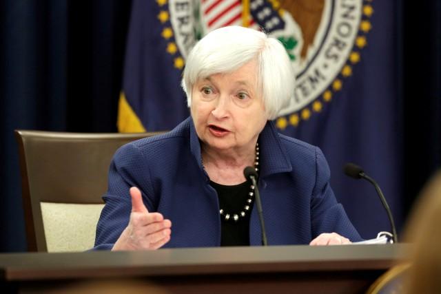 Janet Yellen, présidente de la Réserve fédérale américaine.... (PHOTO REUTERS)