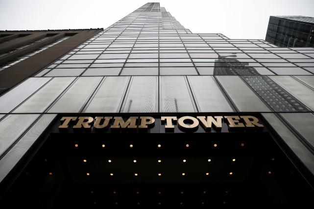 Donald Trump, qui a fait fortune à Manhattan... (REUTERS)