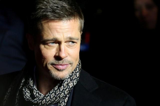 Brad Pitt... (Photo Juan Medina, archives Reuters)