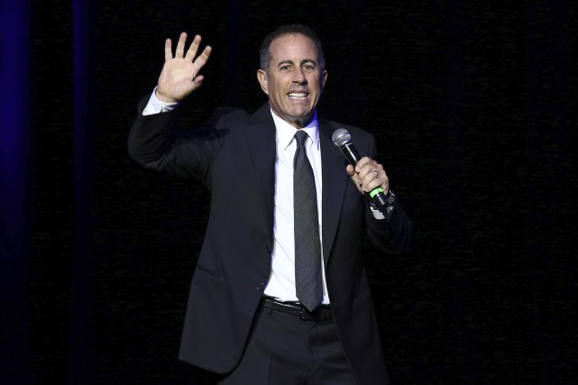 Jerry Seinfeld partagera la scène du Centre Bell... (Photo Greg Allen, archives AP)