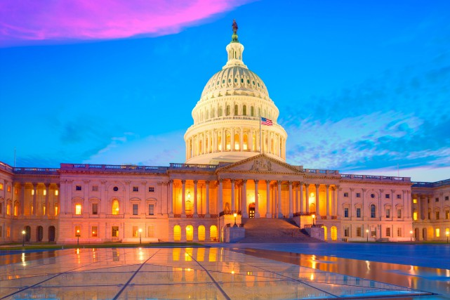 Le Capitole de Washington... (123rf/Antonio Balaguer Soler)