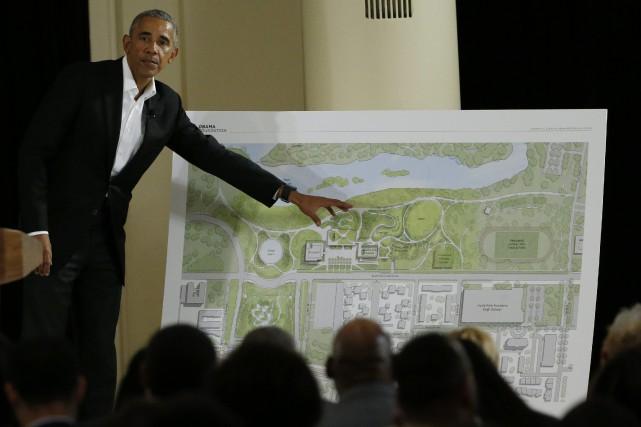 La construction d'une bibliothèque est devenue une tradition... (Photo Nam Y. Huh, Associated Press)