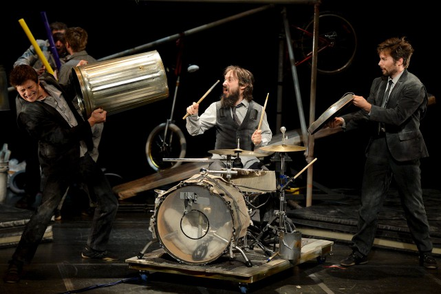 Le percussionniste Fred Lebrasseur... (Le Soleil, Erick Labbé)