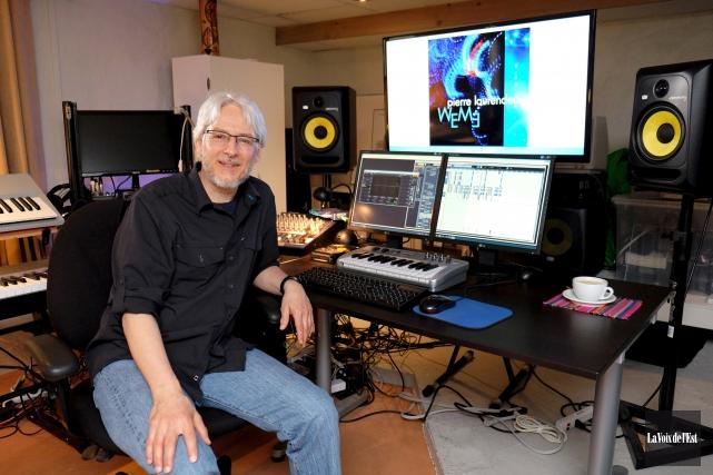 Pierre Laurendeau lancera son premier EP, WEM3, sur... (Alain Dion, La Voix de l'Est)