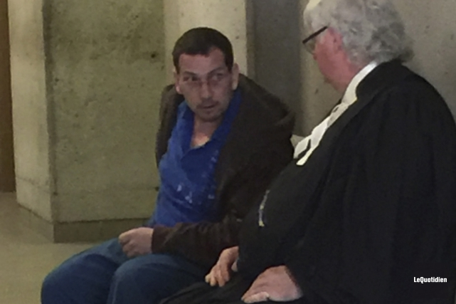 Stéphane Larouche fait face à des accusations d'agression... (Photo Le Quotidien, Louis Tremblay)