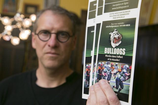 Membre du conseil d'administration des Bulldogs de Sherbrooke,... (Spectre Média, René Marquis)
