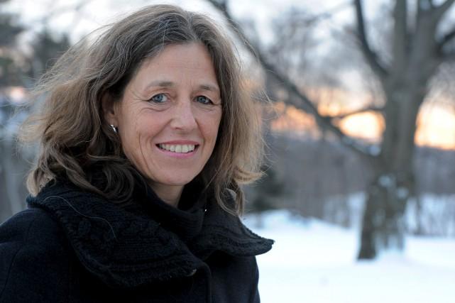 À titre d'exemple, Johanne Elsener, porte-parole du Regroupement... (Photothèque Le Soleil, Erick Labbé)