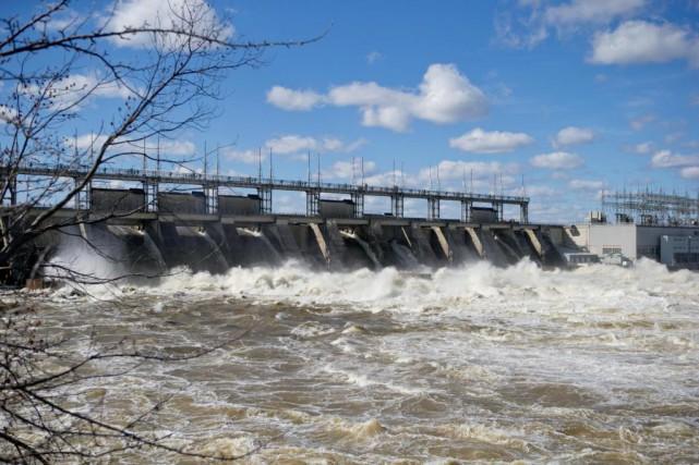 Le barrage de Carillon, sur la rivière des... (Photo David Boily, La Presse)