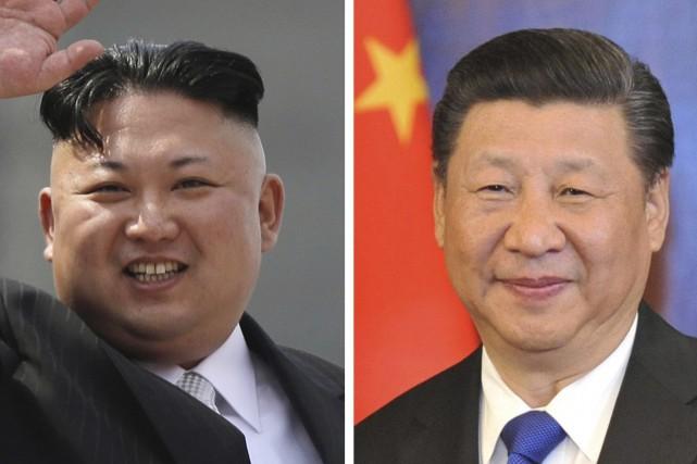 Le dirigeant de la Cotée du Nord, Kim... (AP)