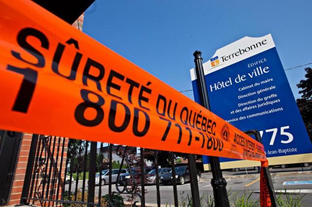 L'Unité permanenteanticorruption (UPAC) a mené des perquisitions à... (Photo Patrick Sanfaçon, Archives La Presse)