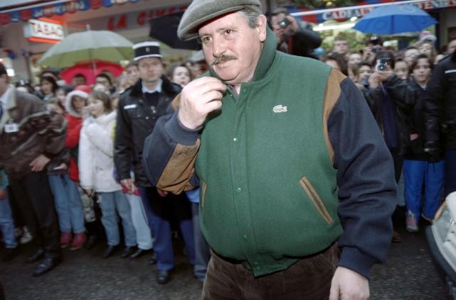 Victor Lanoux avait participé au festival de cinéma... (AFP, FRANCK FIFE)