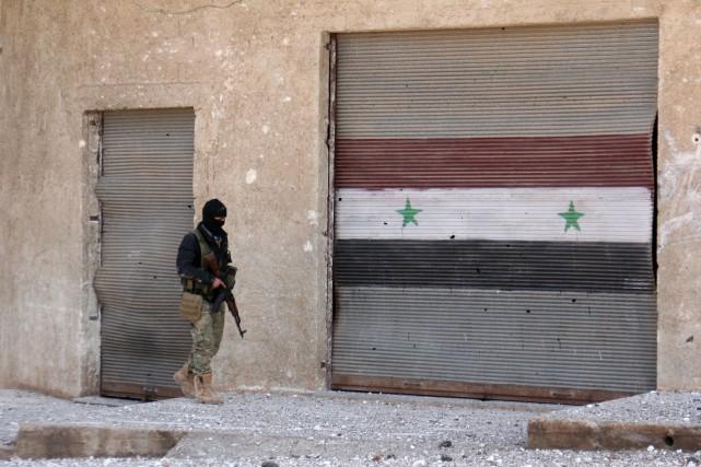 Les rebelles avaient annoncé mercredi leur retrait de... (AFP)
