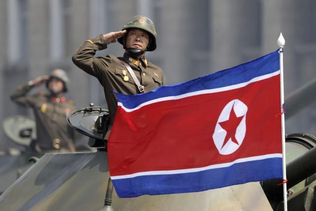 L'agence officielle KCNA a publié un commentaire avertissant... (AP)