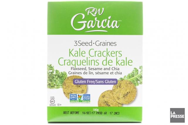 Craquelins de kale de R. W. Garcia... (PHOTO ÉDOUARD PLANTE-FRÉCHETTE, LA PRESSE)
