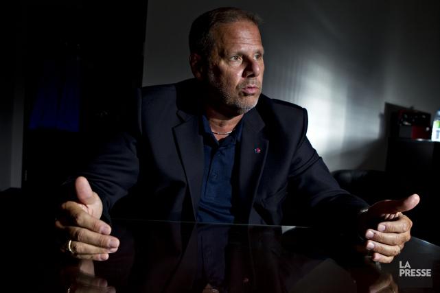 Le président de la Fraternité des policiers et... (Archives La Presse)