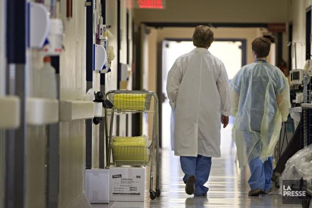 Au début février, l'établissement hospitalier avait dénoncé le... (PHOTO FRANÇOIS ROY, ARCHIVES La Presse)