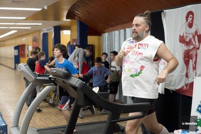 L'enseignant d'éducation physique à l'école secondaire La Découverte,... (Sylvain Mayer, Le Nouvelliste)