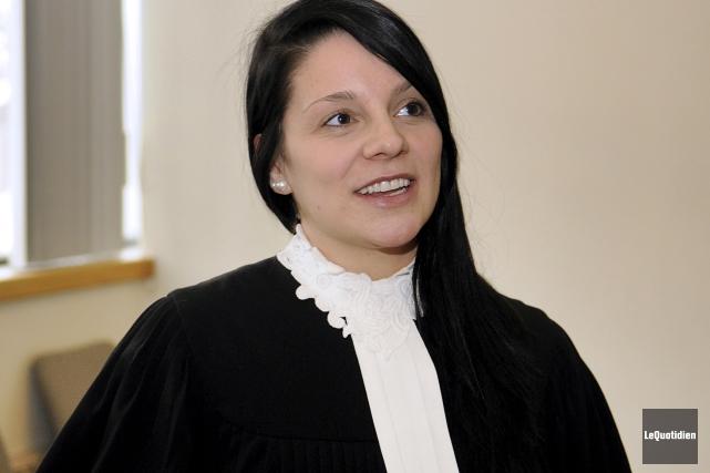 Me Justine Guay-Langevin soutient que son client, Marc... (Archives Le Quotidien, Mariane L. St-Gelais)