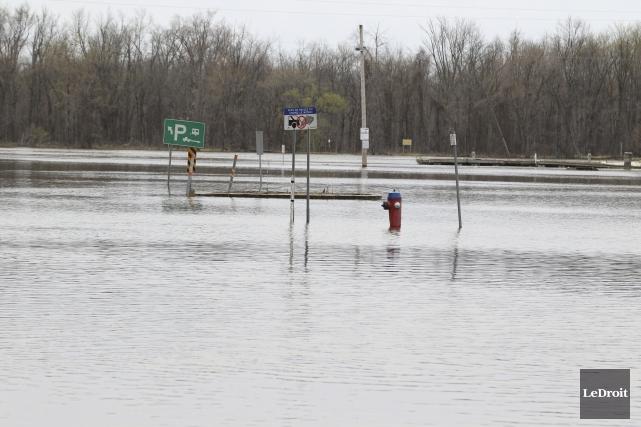 Gatineau s'attend à recevoir de nouvelles précipitations au... (Patrick Woodbury, Le Droit)