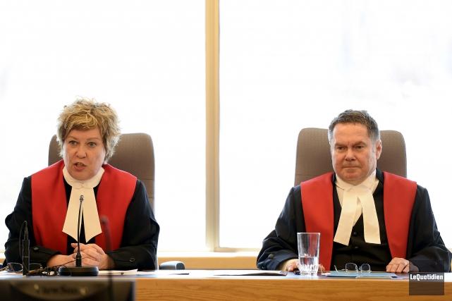 La Cour du Québec a tenu une séance... (Archives Le Quotidien, Jeannot Lévesque)