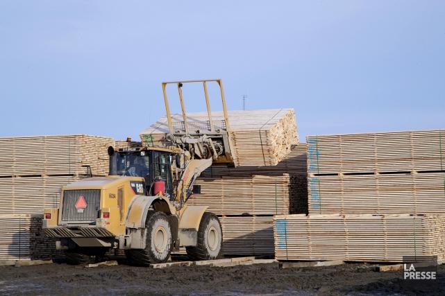 Plusieurs entreprises américaines qui dépendent du bois d'oeuvre canadien... (PHOTO ALAIN ROBERGE, ARCHIVES LA PRESSE)