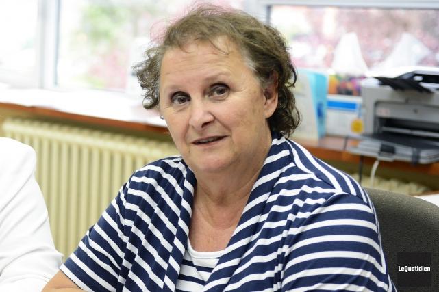 Liz S. Gagné, ex-présidente de la Commission scolaire... (Archives Le Quotidien, Jeannot Levesque)
