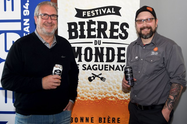 Les organisateurs du Festival des bières du monde... (Le Quotidien, Rocket Lavoie)
